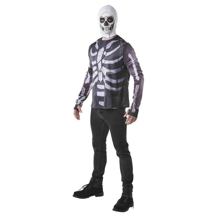 Disfraz camiseta Skull Trooper Fortnite para hombre ©