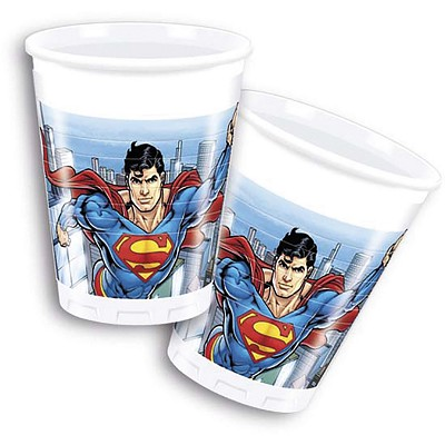 Set vasos Superman © en Dresoop